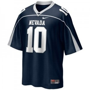 Colin Kaepernick Nevada Wolf Pack #10 Youth Football Jersey - Blue