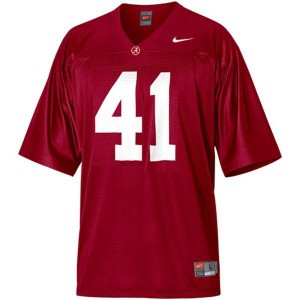 Courtney Upshaw Alabama #41 Youth Football Jersey - Crimson Red