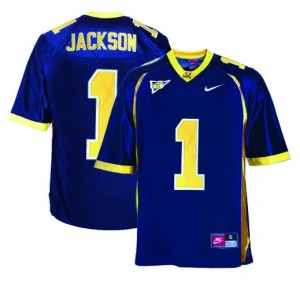 DeSean Jackson California Golden Bears #1 Football Jersey - Blue