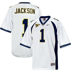 DeSean Jackson California Golden Bears #1 Football Jersey - White