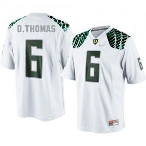 De'Anthony Thomas Oregon Ducks #6 Football Jersey - White