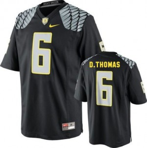 De'Anthony Thomas Oregon Ducks #6 Youth Football Jersey - Black