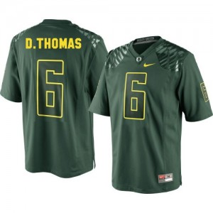 De'Anthony Thomas Oregon Ducks #6 Youth Football Jersey - Green