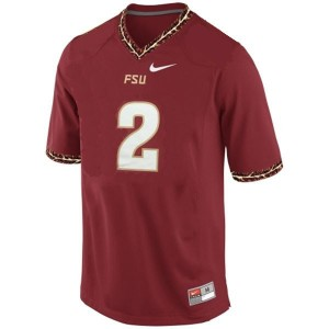 Deion Sanders (FSU) #2 Youth Football Jersey - Red