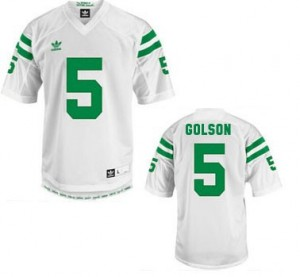 Everett Golson Notre Dame Fighting Irish #5 Football Jersey - White