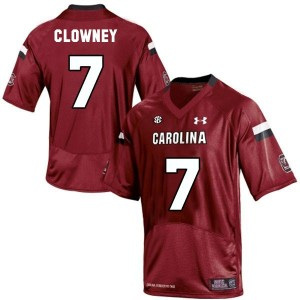 Jadeveon Clowney South Carolina Gamecocks #7 Football Jersey - Red