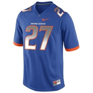 Jay Ajayi Boise State Broncos #27 Football Jersey - Blue