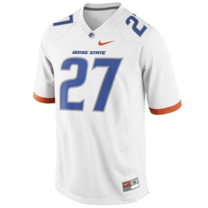 Jay Ajayi Boise State Broncos #27 Football Jersey - White