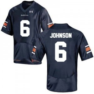 Jeremy Johnson Auburn Tigers #6 College Football Jersey - Blue