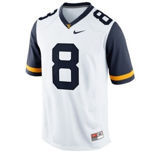 Karl Joseph West Virginia Mountaineers #8 Football Jersey - White