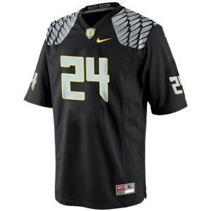 Kenjon Barner Oregon Ducks #24 Youth Football Jersey - Black