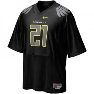 LaMichael James Oregon Ducks #21 Youth Football Jersey - Black