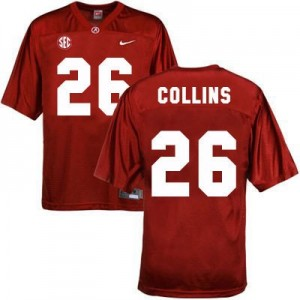 Landon Collins Alabama #26 Youth Football Jersey - Crimson Red