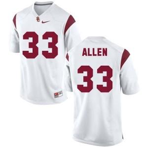 Marcus Allen USC Trojans #33 Football Jersey - White