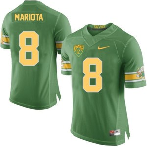 Marcus Mariota Oregon Ducks 20th Anniversary The Pick Youth Football Jersey - Green