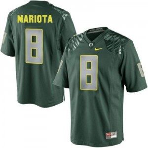 Marcus Mariota Oregon Ducks #8 Youth Football Jersey - Green