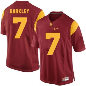 Matt Barkley USC Trojans #7 Youth Football Jersey - Red
