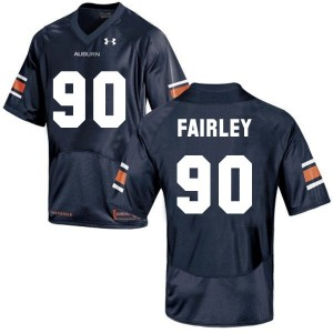 Nick Fairley Auburn Tigers #90 Youth Football Jersey - Navy Blue