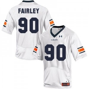 Nick Fairley Auburn Tigers #90 Youth Football Jersey - White
