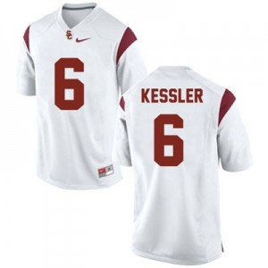 Cody Kessler USC Trojans #6 College Football Jersey - White