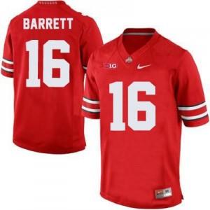 J.T. Barrett Ohio State Buckeyes #16 Football Jersey - Scarlet