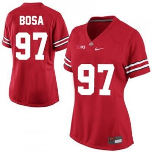 Joey Bosa Ohio State Buckeyes #97 Women's Football Jersey - Red