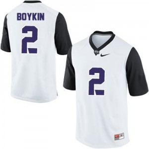Trevone Boykin TCU Horned Frogs #2 College Football Jersey - White