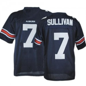 Pat Sullivan Auburn Tigers #7 Football Jersey - Navy Blue