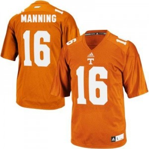 Peyton Manning Tennessee Volunteers #16 Football Jersey - Orange