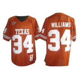 Ricky Williams Texas Longhorns #34 Youth Football Jersey - Orange