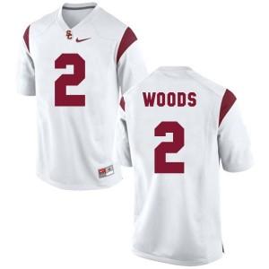 Robert Woods USC Trojans #2 Football Jersey - White
