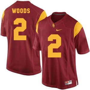 Robert Woods USC Trojans #2 Youth Football Jersey - Red