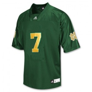 Stephon Tuitt Notre Dame Fighting Irish #7 Youth Football Jersey - Green