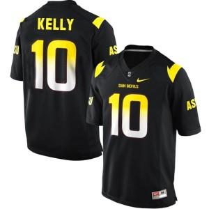Taylor Kelly Arizona State Sun Devils #10 Football Jersey - Black