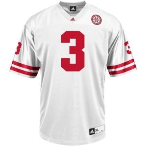 Taylor Martinez Nebraska Cornhuskers #3 Football Jersey - White