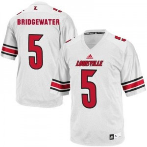 Teddy Bridgewater Louisville Cardinals #5 Youth Football Jersey - White