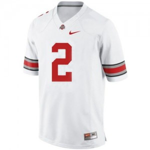 Terrelle Pryor Ohio State Buckeyes #2 Youth Football Jersey - White