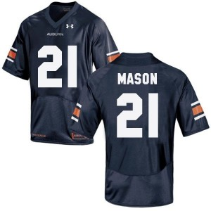 Tre Mason Auburn Tigers #21 Football Jersey - Navy Blue