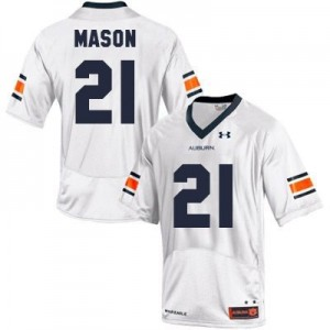 Tre Mason Auburn Tigers #21 Youth Football Jersey - White