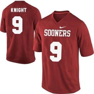 Trevor Knight Oklahoma Sooners #9 Football Jersey - Red