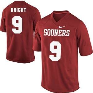 Trevor Knight Oklahoma Sooners #9 Youth Football Jersey - Red