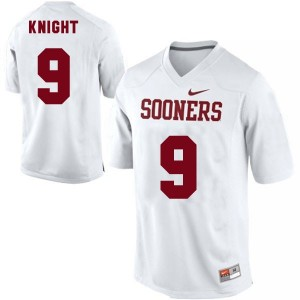 Trevor Knight Oklahoma Sooners #9 Youth Football Jersey - White