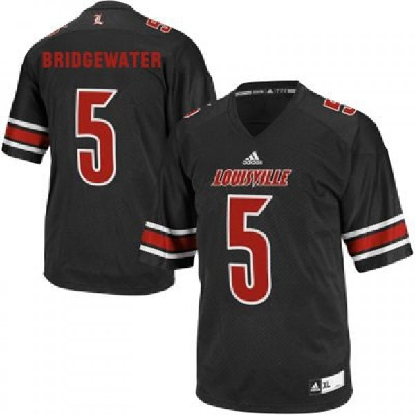 timeless design 03017 9e049 Teddy Bridgewater Louisville Cardinals #5 Football Jersey - Black