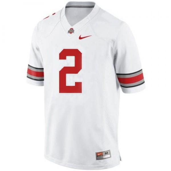 Terrelle Pryor Ohio State Buckeyes #2 Youth Football Jersey - White