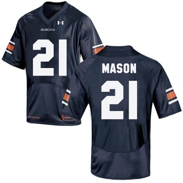 Tre Mason Auburn Tigers #21 Youth Football Jersey - Navy Blue
