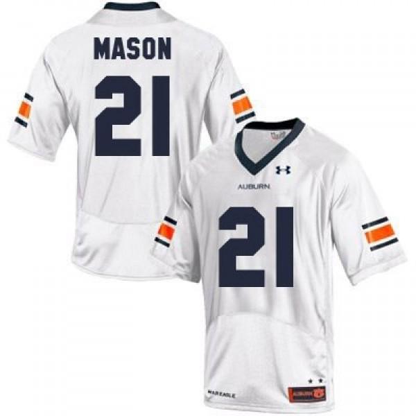 Tre Mason Auburn Tigers 21 Youth Football Jersey White